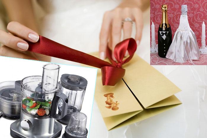 Варианты свадебных подарков