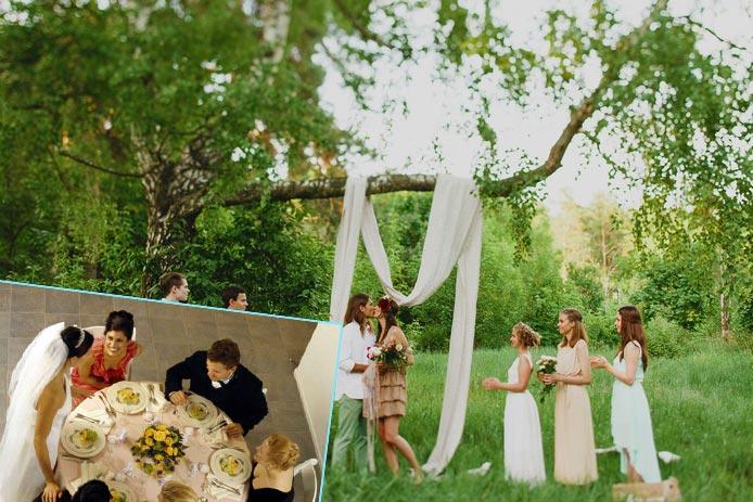 Детали организации маленькой свадьбы