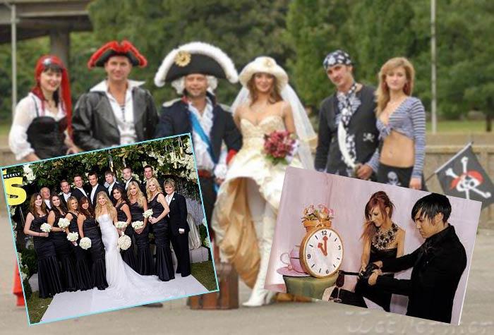 Знаменитые необычные свадьбы
