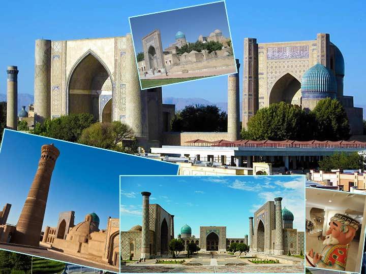 Медовый месяц в Узбекистане