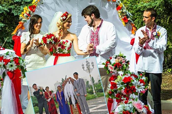 Национальная народная свадьба