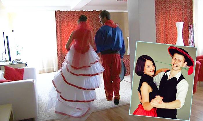 Образ невесты и жениха в испанском стиле?
