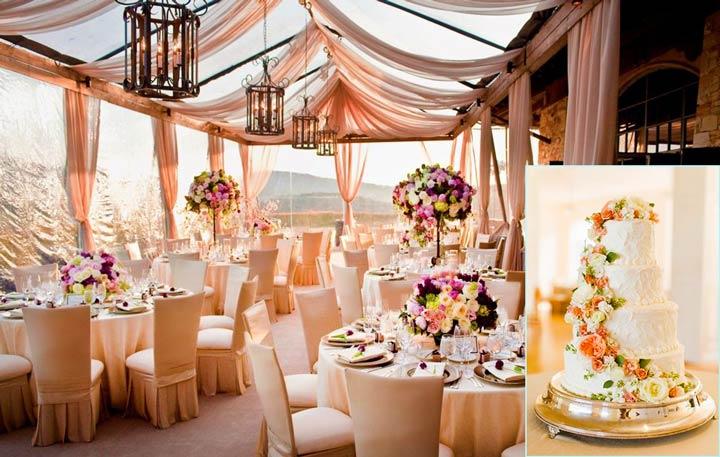 Подготовка свадебного застолья