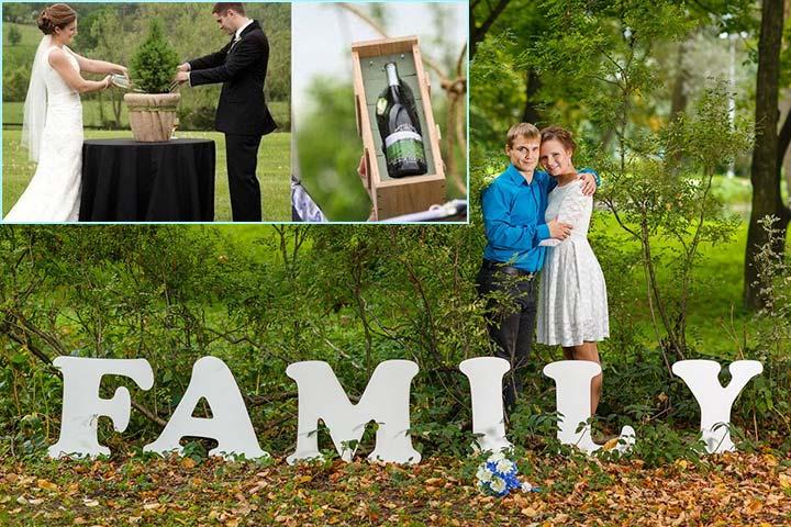 Празднование деревянной свадьбы
