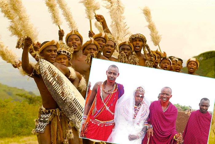 Свадебные традиции разных народов Африки