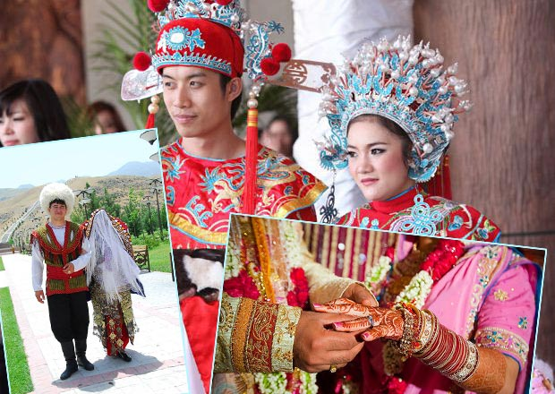 Свадебные традиции стран Азии
