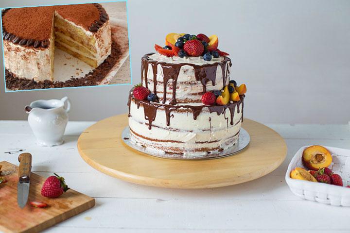 Свадебный торт для скромной свадьбы