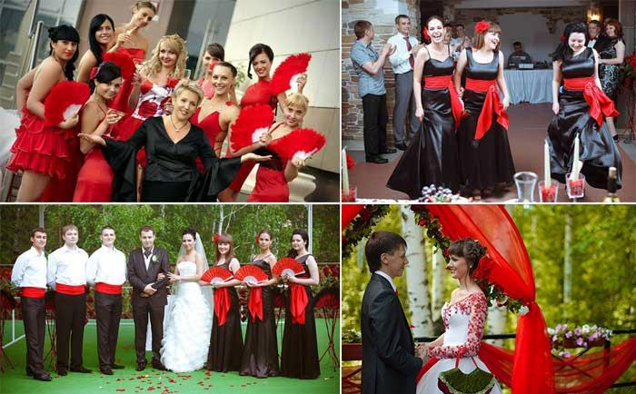 Тематические детали испанской свадьбы