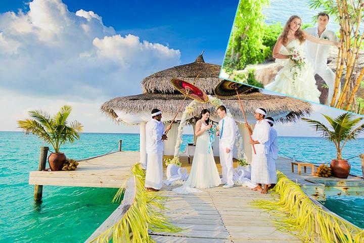 Тропическая свадьба