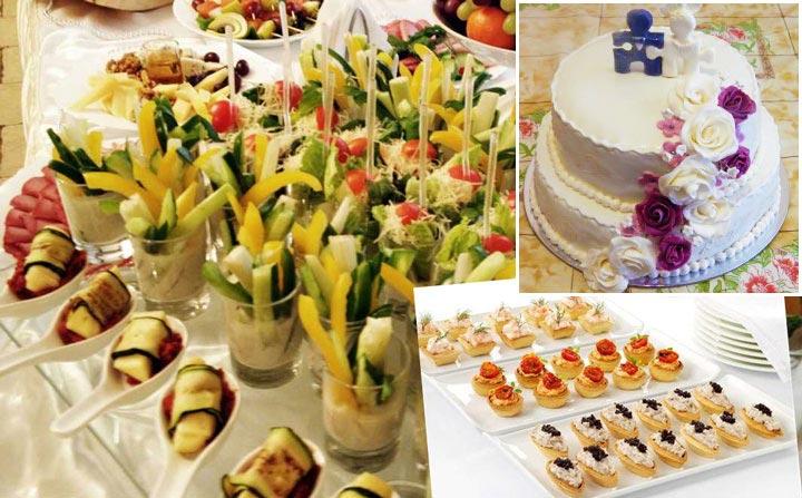 Угощения на свадьбу