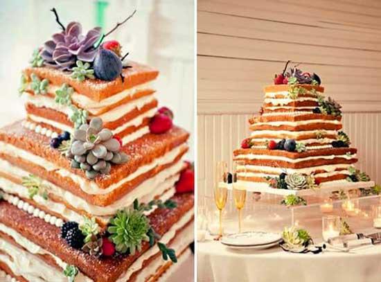 Бисквитный торт с коржами