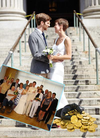 Бюджет скромной свадьбы