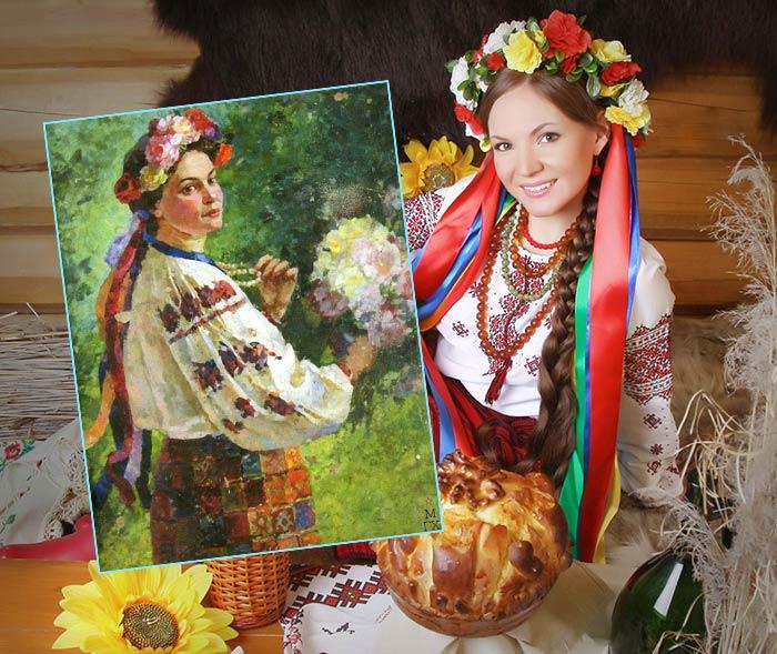 Венок на Руси вместо фаты