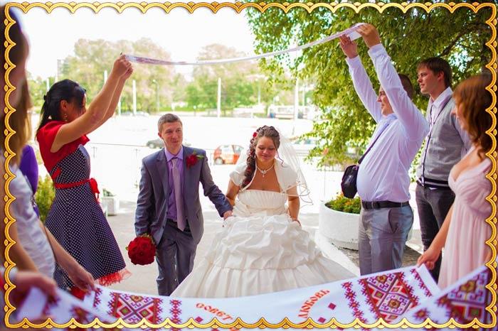 Гости недорогой свадьбы