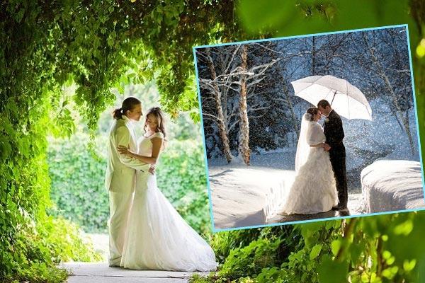 Какой месяц выбрать для свадьбы?