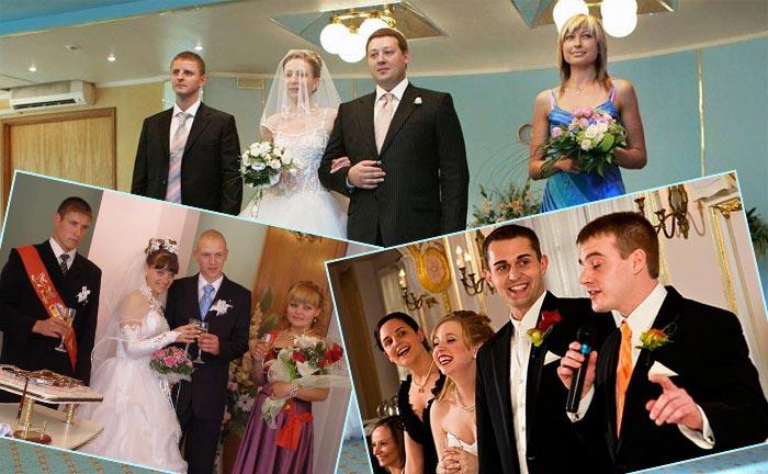 Обязанности свидетелей в загсе и на свадьбе