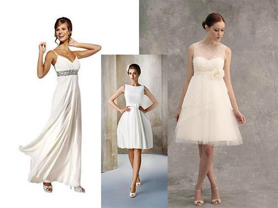 Платье невесты для скромной свадьбы