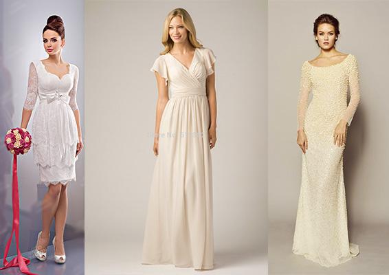 Платье невесты для маленькой свадьбы