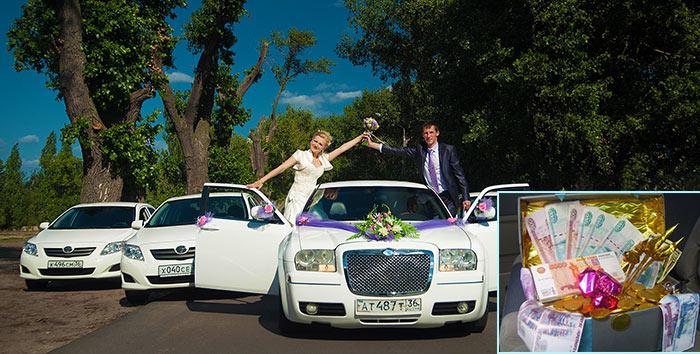 Подготовка к свадебному выкупу