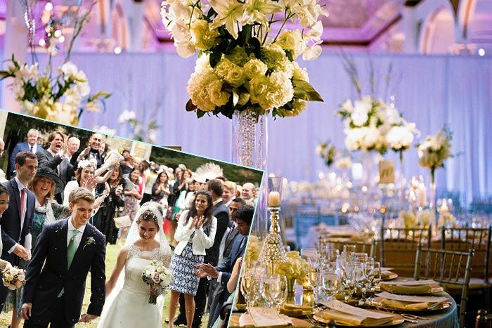 Празднование американской свадьбы