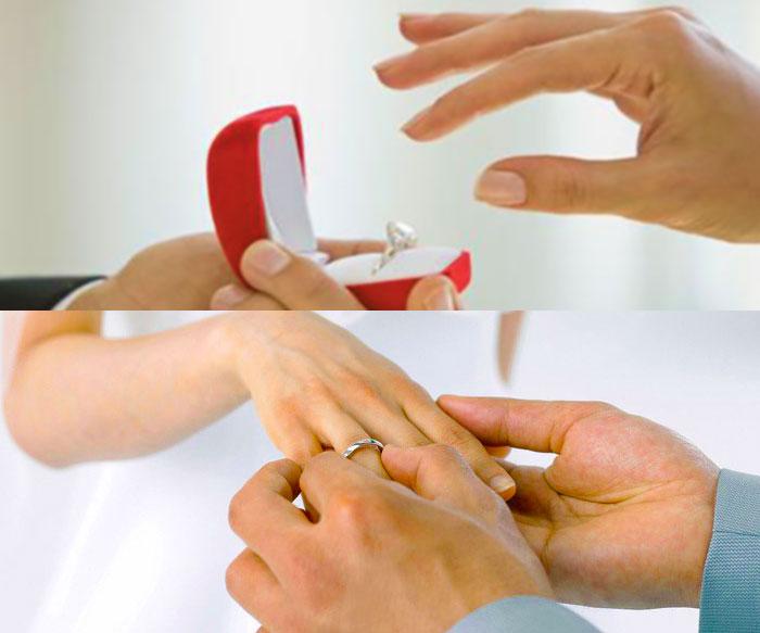 Приметы, связанные со свадебными кольцами