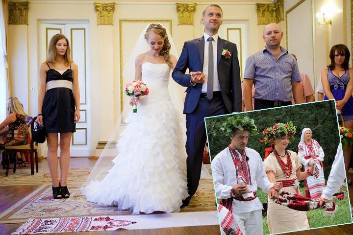 Ритуалы венчания с рушником
