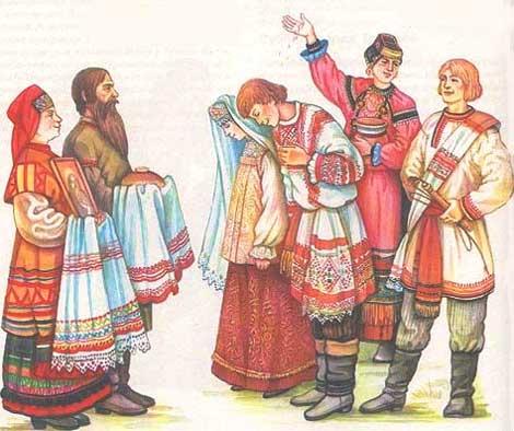Какие свадебные обычаи на руси соблюдали