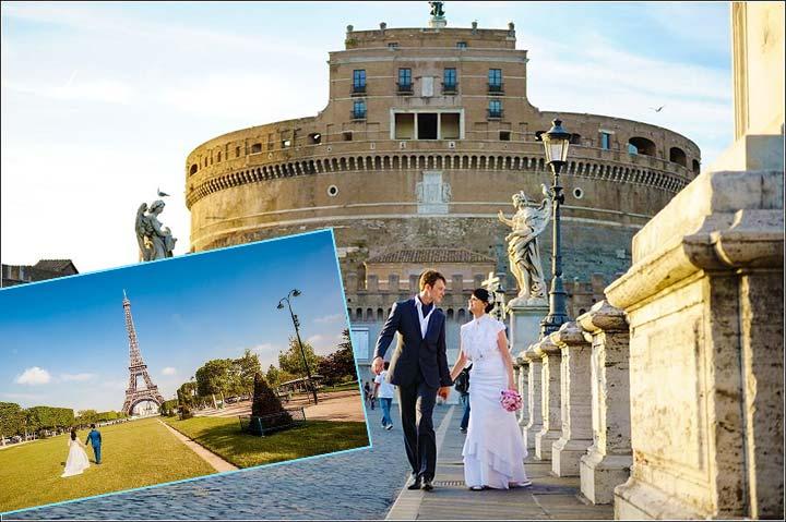 Свадьба вдвоем в Европе
