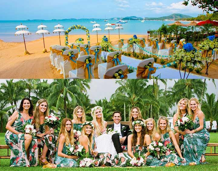 Свадьба в тропиках