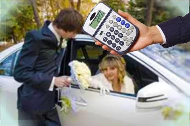 Молодожены и затраты на свадьбу