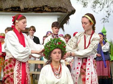 Сватовство жениха и невесты