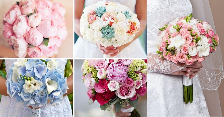 Собирание букета невесты своими руками