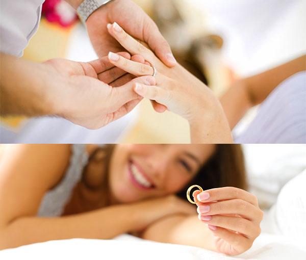 Народные суеверия со свадебными кольцами