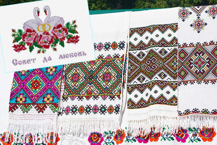 Традиции вышивки рушника