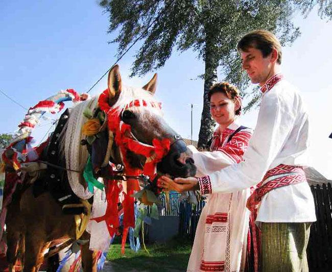 Формы брака у словян