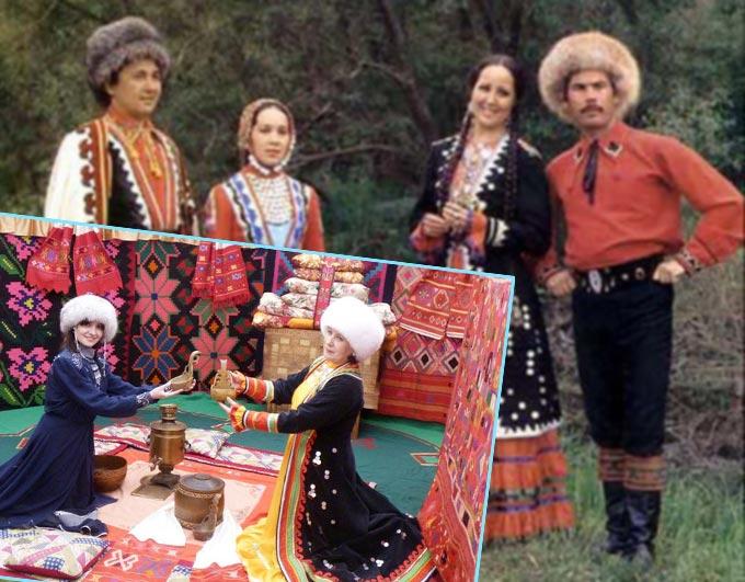 Башкирские костюмы и традиции свадьбы