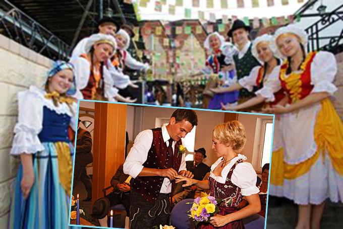 Сюжеты немецкой свадьбы