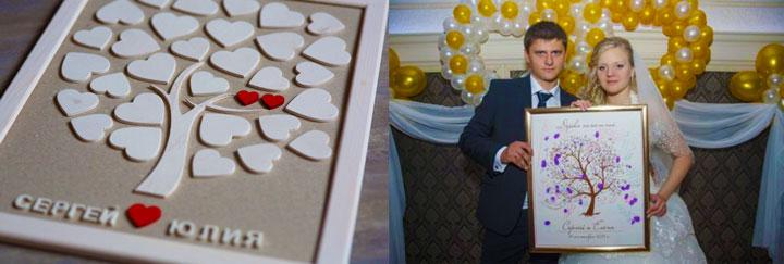 Поздравления на свадьбу от гостей в прозе на