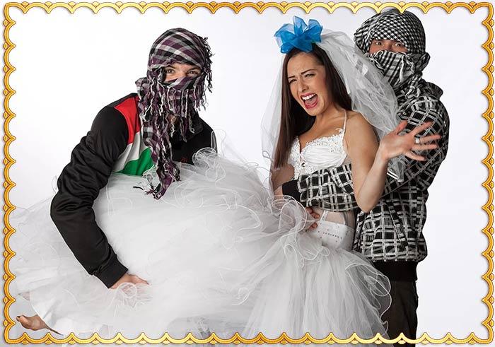 Кража невесты на современной свадьбе