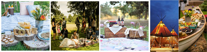Пикник и фуршет на свадьбе