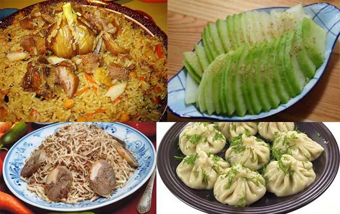 Узбекские свадебные блюда
