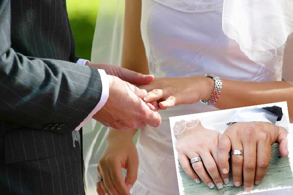 Обычаи надевать обручальное кольцо
