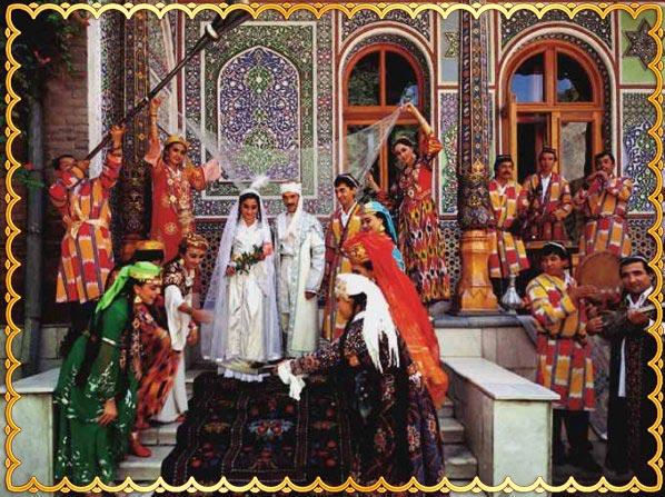 Обряд венчания по узбекски