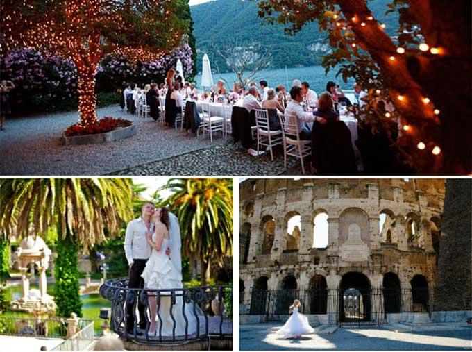 Застолье и свадьба по итальянски
