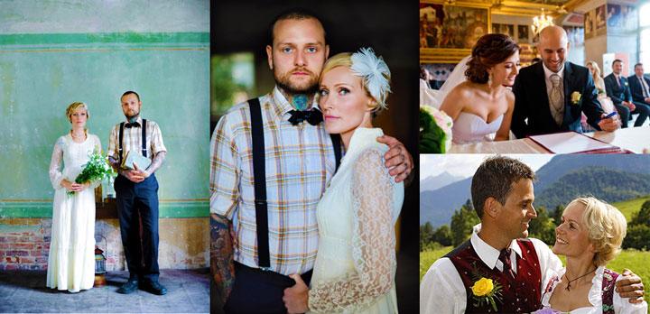 Немецкие наряды на свадьбу