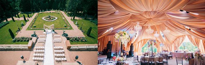 Парк-отель Морозовка и свадебный шатер