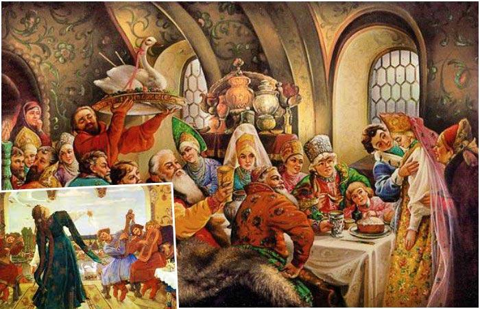 Старорусский свадебный пир