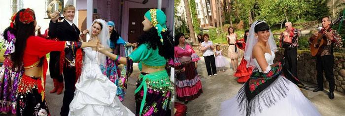 Сценарий похищения невесты цыганами