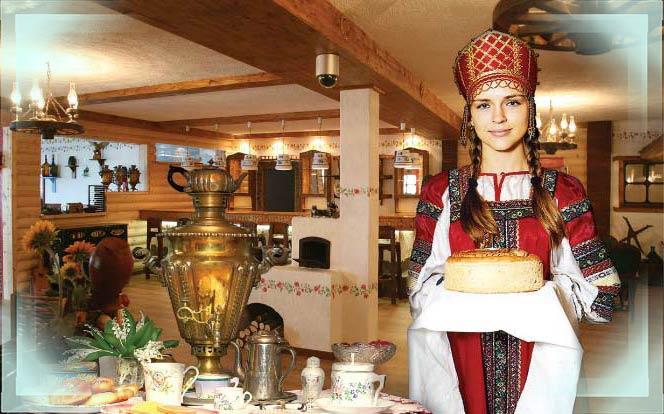 Урдмуртская невеста встречает гостей