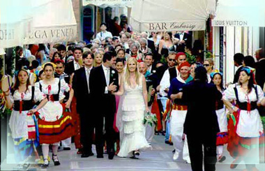 Итальнская свадьба